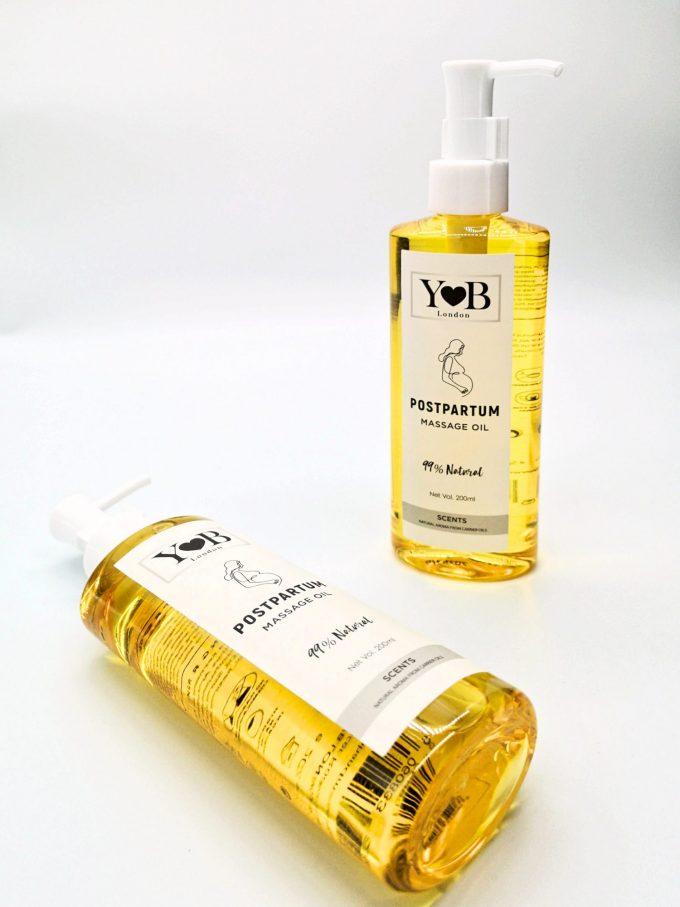 postpartum body massage oil yb stretch mark