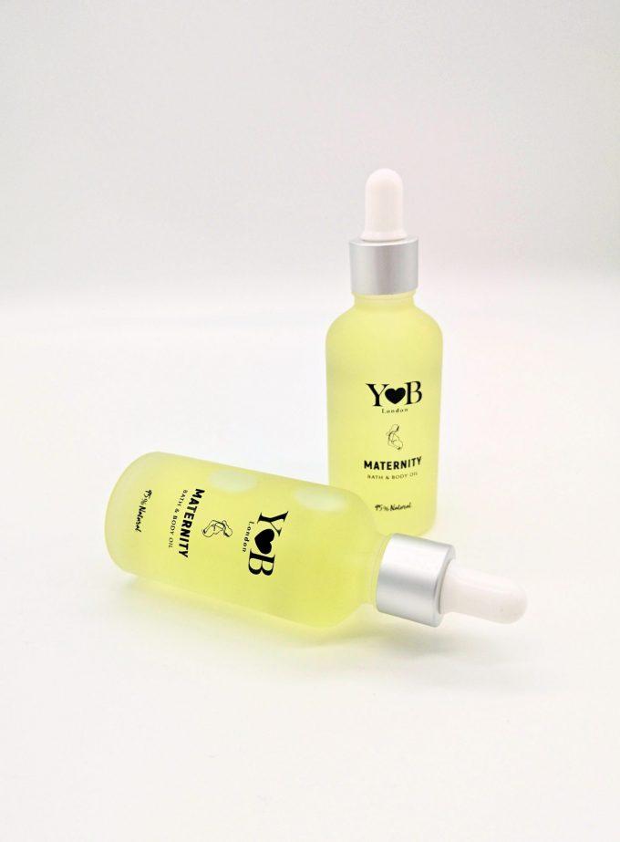 maternity bath body oil