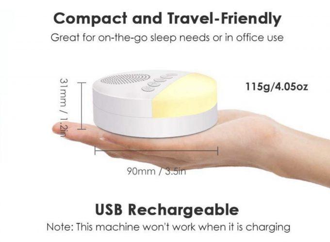 baby sleep aid white noise machine