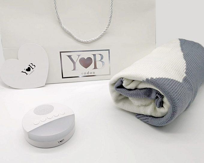 baby sleep aid gift set grey