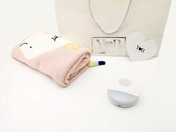 baby sleep aid gift set pink