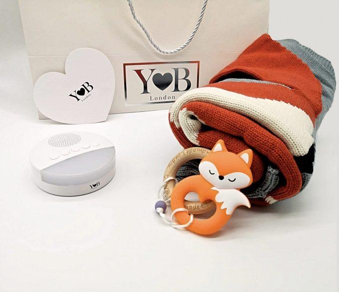 baby shower gift set fox 3