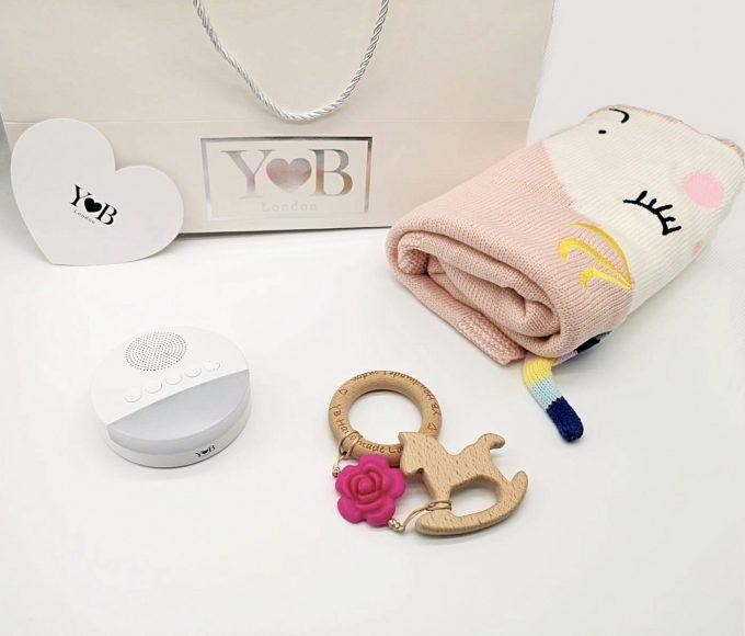 baby shower gift set horse unicorn