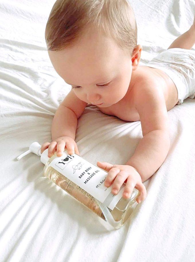 baby oil yb